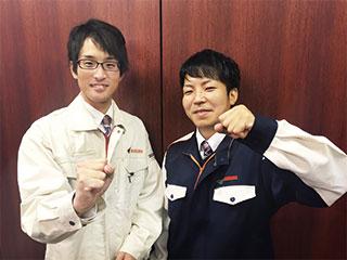 若手~中高年まで幅広い年代の男性活躍中!!